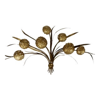Lighted Italian Wall Sculpture For Sale