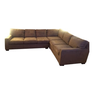 Mitchell Gold + Bob Williams Sectional Sofa For Sale
