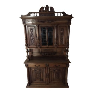 Antique French Walnut Sideboard