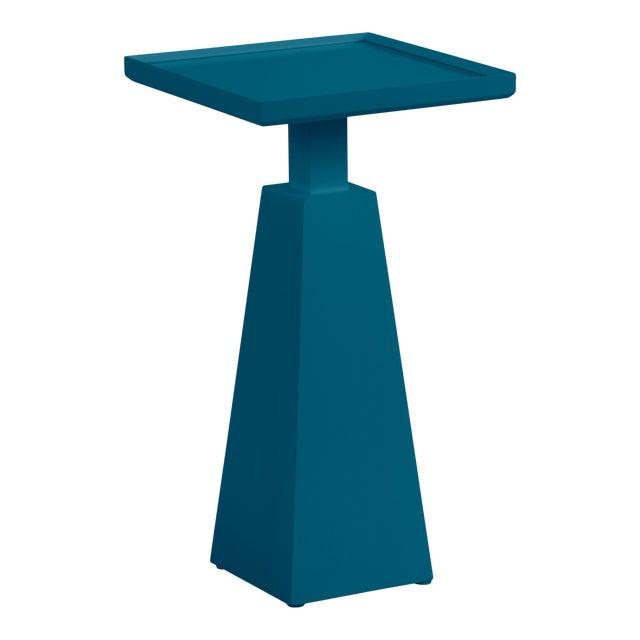 Casa Cosima Hayes Spot Table, Blue Danube For Sale