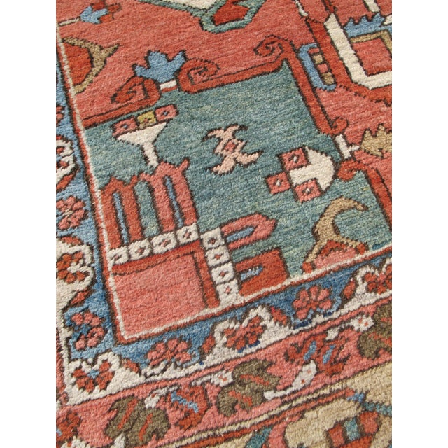 Textile Serapi (Heriz) Carpet For Sale - Image 7 of 7