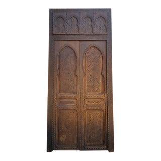 Moroccan Cedar Wood Door