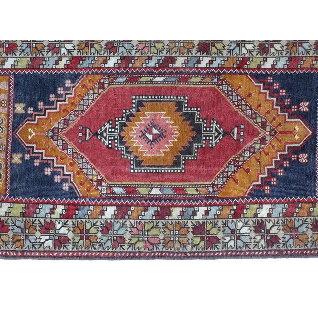"""Leon Banilivi Anatolian Oushak Rug- 3' X 6'1"""" - Image 4 of 5"""