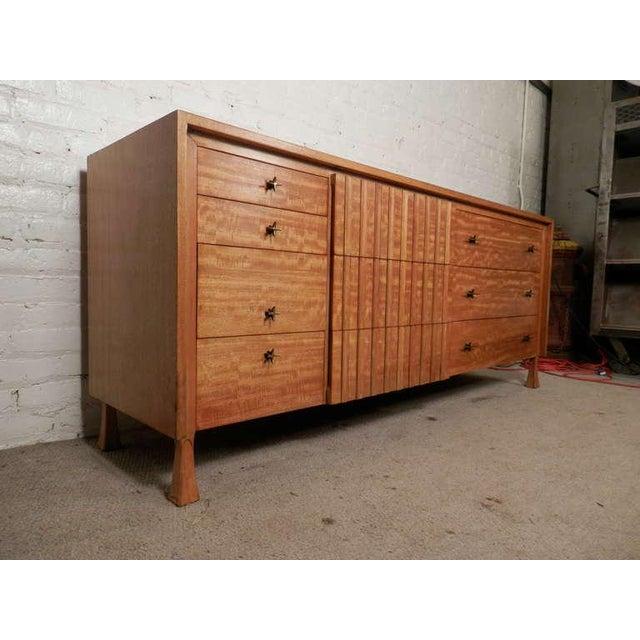 Gold John Widdicomb Mid-Century Dresser For Sale - Image 8 of 9