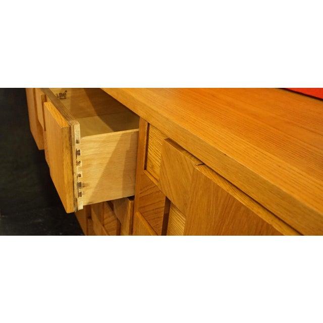 Altavista Lane Mid-Century Lane Brutalist Dresser For Sale - Image 4 of 7