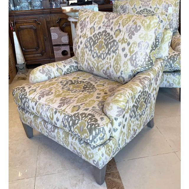 Lee Industries Lounge Chairs- a Pair For Sale In Tampa - Image 6 of 13
