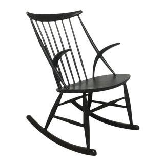 Illum Wikkelso for Neils Eilersen Danish Rocking Chair