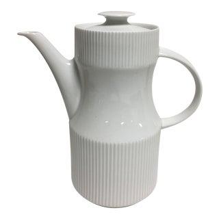 Mid-Century Thomas Rosenthal Coffee Pot, Creamer & Sugar