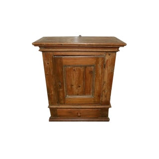 Antique Hanging Pine Cabinet For Sale