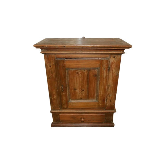 Antique Hanging Pine Cabinet For Sale - Antique Hanging Pine Cabinet Chairish