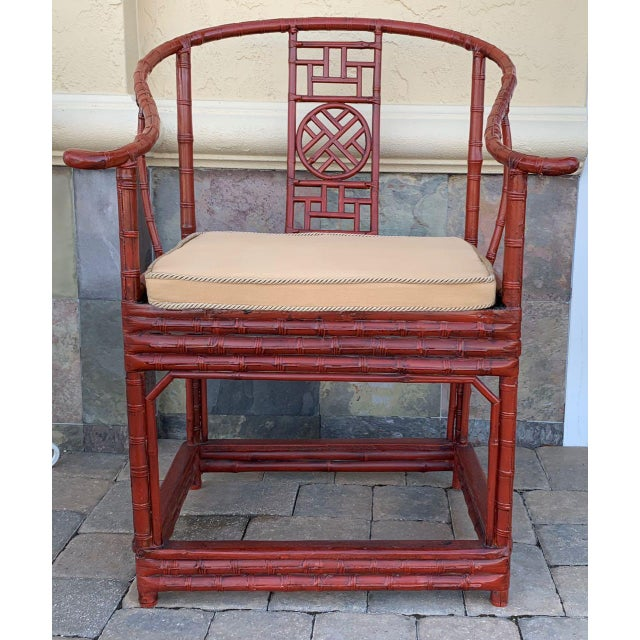 Wood Late 19th Century Ming Style Quanyi Chairs -2- For Sale - Image 7 of 13