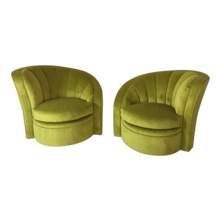 Swivel Mid Century Accent Chairs