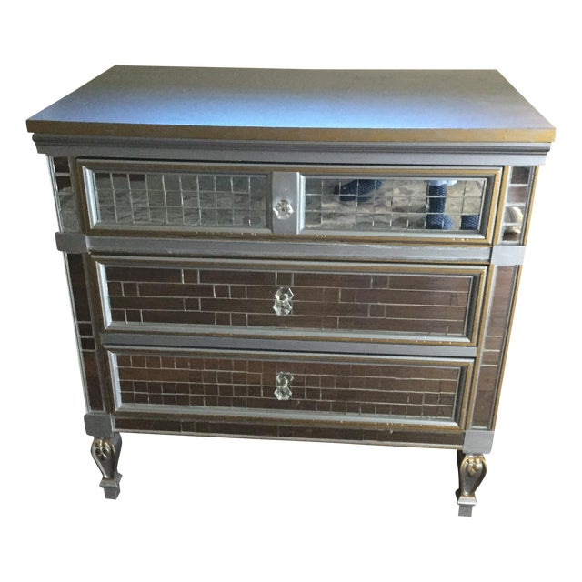Mirrored 3-Drawer Accent Dresser - Image 1 of 6
