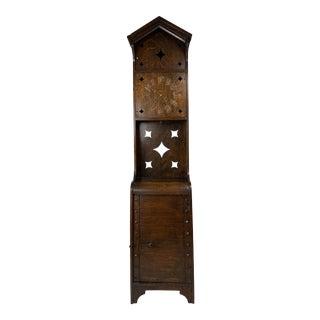 1940s Vintage Arts & Crafts Mission Grandfather Clock