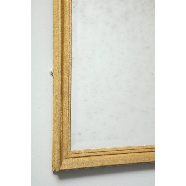 Giltwood 1970s Vintage Giltwood Neoclassical Style Mirrors- A Pair For Sale - Image 7 of 8