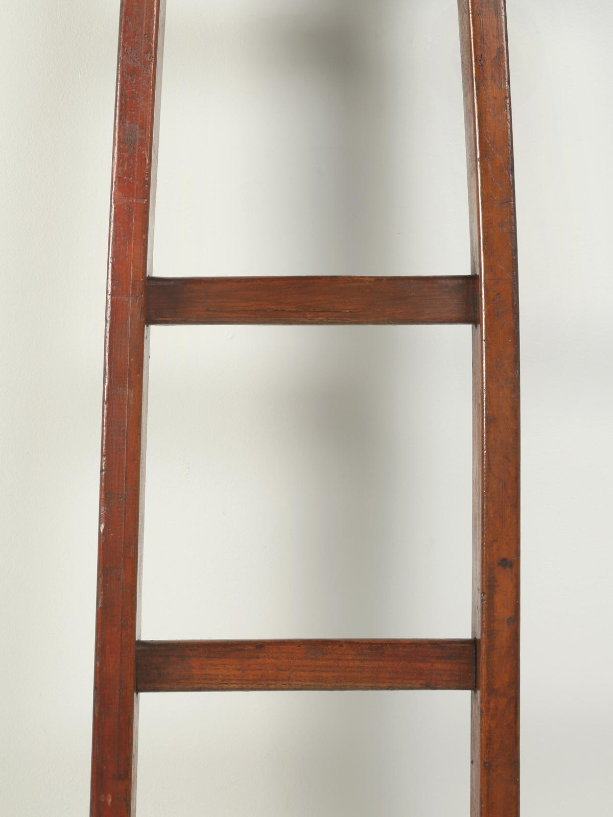 Antique Cherry Orchard French Ladder   Image 6 Of 9