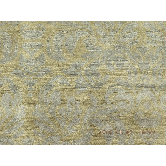 """Hand-Knotted Contemporary Rug - 6'x 9'5"""" - Image 10 of 10"""