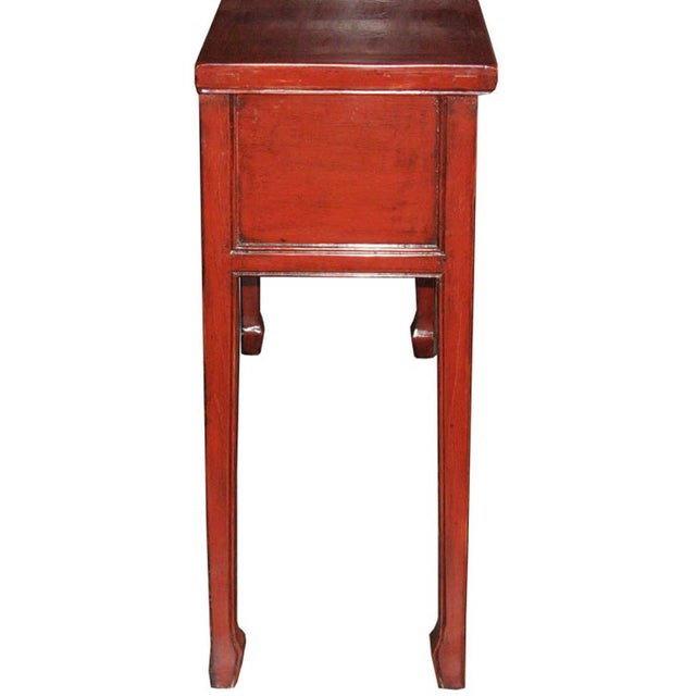 Red Fujian Altar Table For Sale - Image 7 of 7