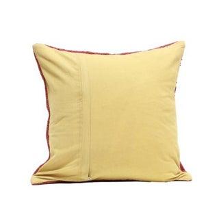 Antique Turkish Kilim Woven Throw Pillow Preview