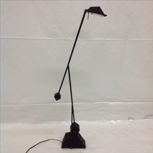 Black Modernist Kinetic Balance Lamp - Image 7 of 7