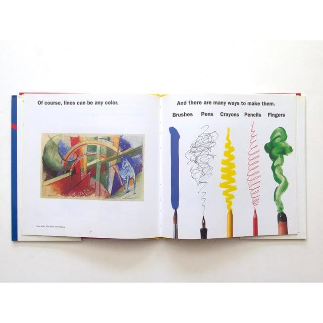 "Blue "" Colors, Shapes, Lines "" Rare Vintage 1991 1st Edition Museum of Modern Art Children's Art Books - Set of 3 For Sale - Image 8 of 12"