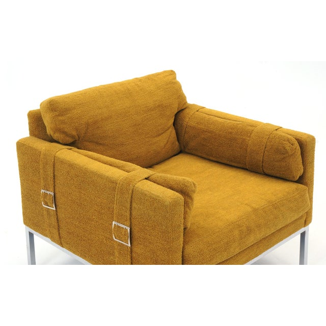 Original Complimenting Pair of Milo Baughman Lounge Chairs - Image 5 of 10