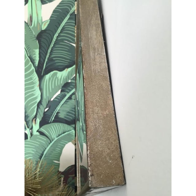 Silver Leaf Wall Mirrors- A Pair - Image 3 of 6