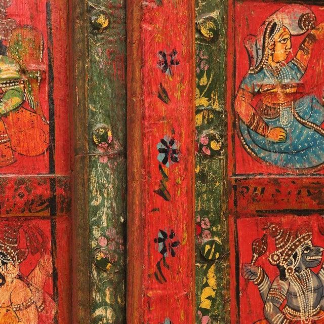 Folk Painted Mandawa Door - Image 3 of 4