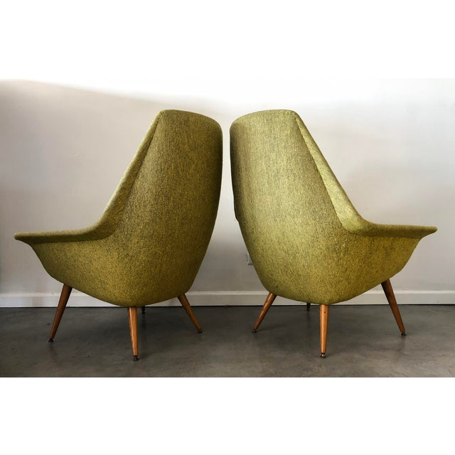 Green Torbjorn Adfal Butterfly Chairs, a Pair For Sale - Image 8 of 9