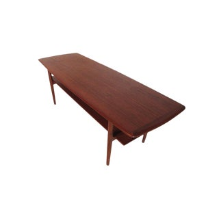 Povl Dinesen Pd 15 Teak Cocktail Table Made in Denmark For Sale