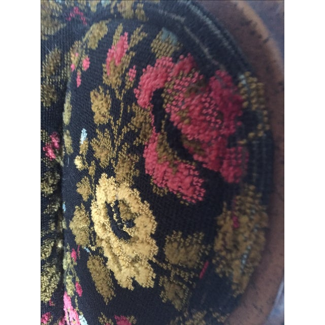 Vintage French Bohemian Wingback Armchair - Image 9 of 9