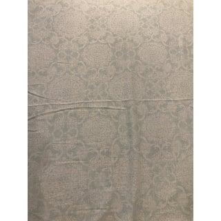 """Brunschwig & Fils """"Marquesas Aqua"""" Designer Fabric - 4 Yard Piece For Sale"""