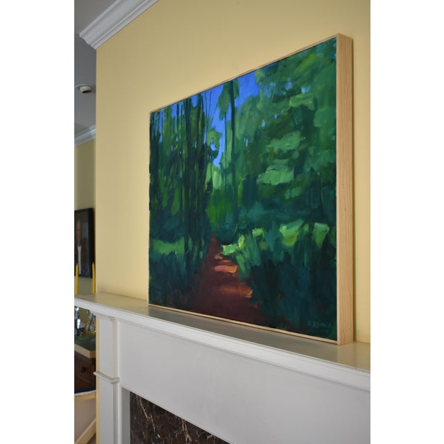"Stephen Remick ""A Walk in the Woods"" Contemporary Painting For Sale - Image 10 of 12"