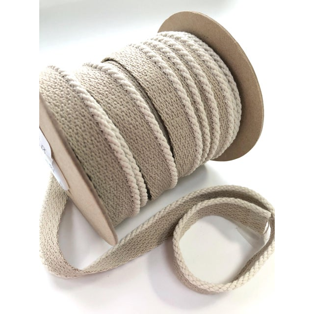 """Textile Indoor/Outdoor 1/8"""" Cable Cord Trim For Sale - Image 7 of 10"""