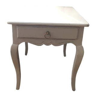 1970s French Country Henredon Side Table For Sale