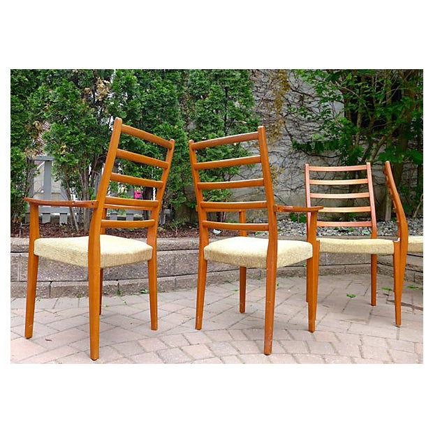 Mid Century Modern Dining Chair Set - Set of Four - Image 5 of 7
