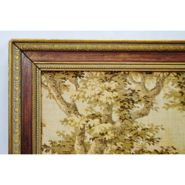 Early Framed Tapestry Wall Art - Image 6 of 11