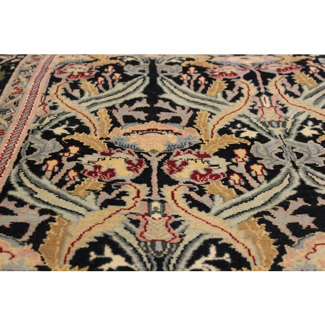 Designed with mesmerizing intricacy and gorgeous color palette, this hand-knotted masterpiece demonstrates the beauty and...
