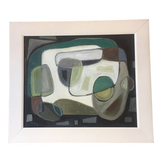 Original Modernist Stewart Ross Abstract Painting For Sale