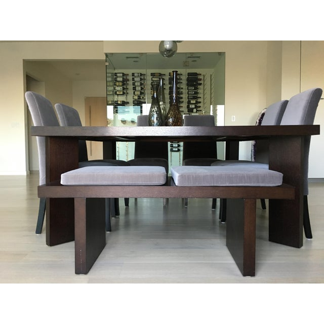 Contemporary Modern Classic Dining Set & Vases For Sale - Image 3 of 11