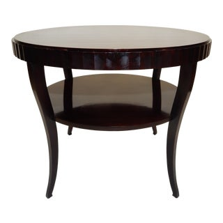 Barbara Barry for Baker Furniture Regency Style Center Table 37 Inches