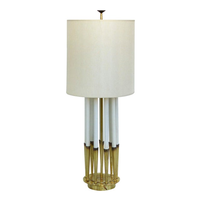 Monumental Mid-Century Table Lamp by Tommi Parzinger for Stiffel For Sale