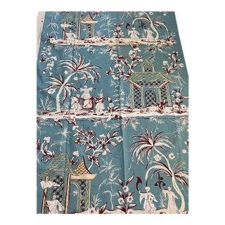 Quadrille China Seas Lyford Print Fabric For Sale