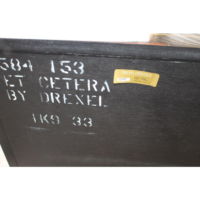 Drexel Et Cetera Chinoiserie Chest of Drawers For Sale - Image 10 of 11