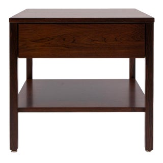 Florence Knoll Rosewood Side Table For Sale
