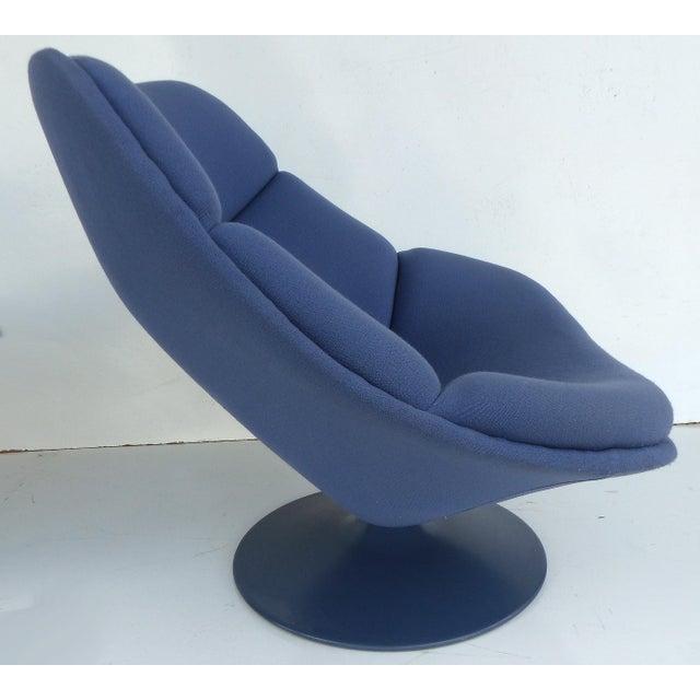 Mid-Century Modern Geoffrey Harcourt Chair & Ottoman For Sale - Image 5 of 11