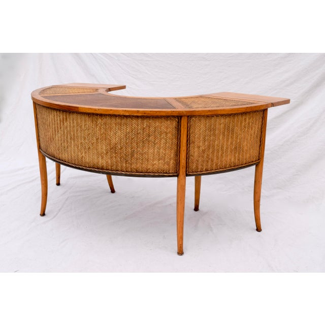Demi Lune Cocktail/Hunt Table For Sale In Philadelphia - Image 6 of 13