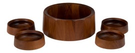 Image of Teak Serving Bowls