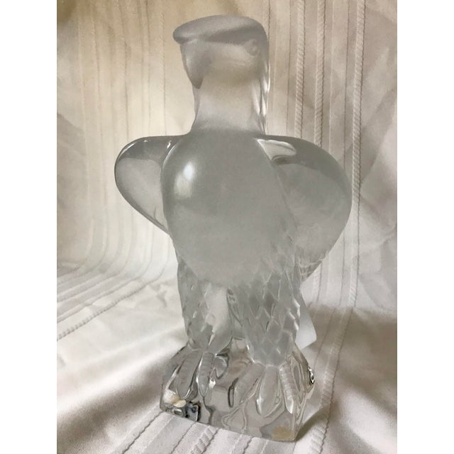 1980s Vintage Standing Lalique Liberty Eagle For Sale - Image 12 of 12