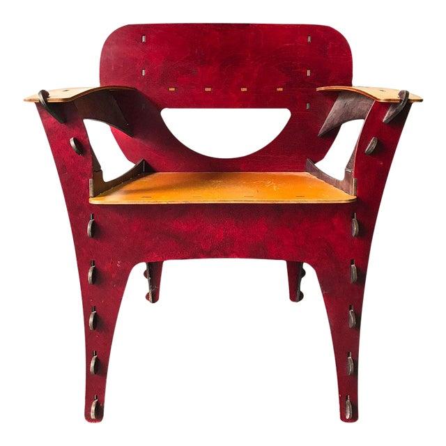 Modern Puzzle Chair by David Kawecki For Sale